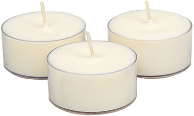 Soyworx Soy Tealight Unscented Candles