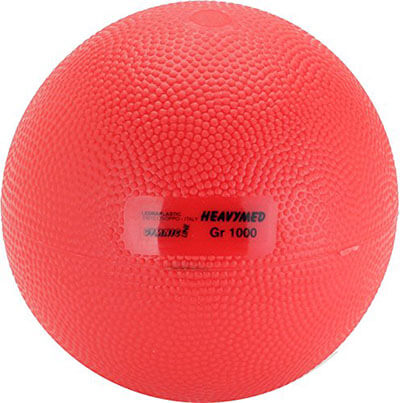Gymnic Heavymed 1 Medicine Ball, 2.2 lb