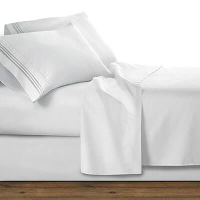 Clara Clark Premier 1800 Series 4-Piece Bed Sheet