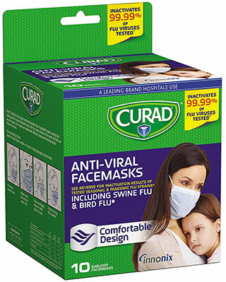 Curad Antiviral Face Mask