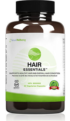 Natural Wellbeing Hair Essentials Natural Hair Growth Supplement