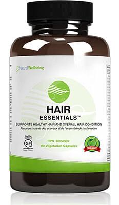 Natural Wellbeing Hair Essentials Natural Hair Growth Supplement