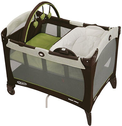 Graco Pack 'n Play Reversible Napper & Changer Playard, Basin