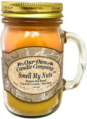 Our Own Candle Company Nuts Scented Mason Jar Candle
