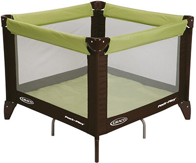 Graco Pack 'N Play Go Green Playard Totbloc
