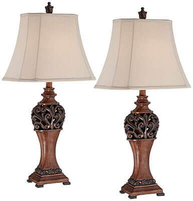 Regency Hill Exeter Bronze Table Lamp