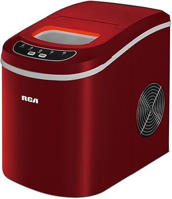 Igloo Red Countertop Ice Machine