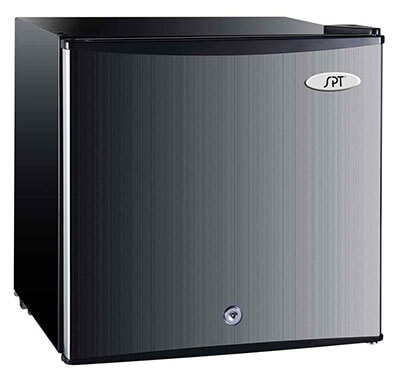 SPT UF-114SS Stainless Steel Upright Freezer