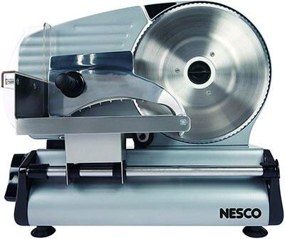 Nesco FS-250 Food Slicer with 8.7-Inch Blade, 180 Watt