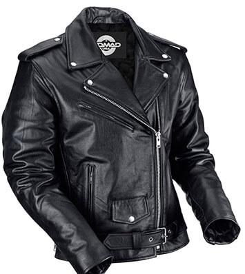 Nomad USA Classic Biker Jacket for Men