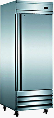 "SDS 29"" Freezer Single Solid Steel Door Reach-in Commercial Grade Upright Freezer"