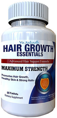 Vie Naturelle Hair Growth Essentials Pills Supplement