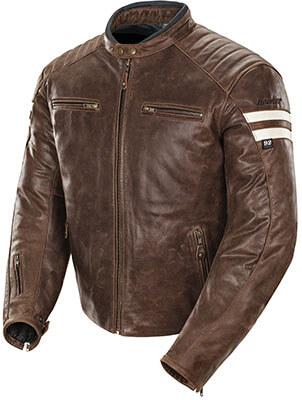 Joe Rocket Classic Leather Motorcycle Jacket for Men