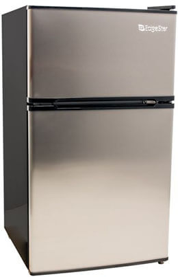 EdgeStar 3.1 Cu Compact Stainless Steel Freezer/Fridge