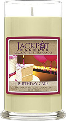 Jackpot Soy Candles Birthday Cake Candle