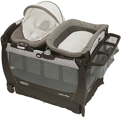 Graco Pack 'n Play Snuggle Suite LX Bassinet Changer Playard