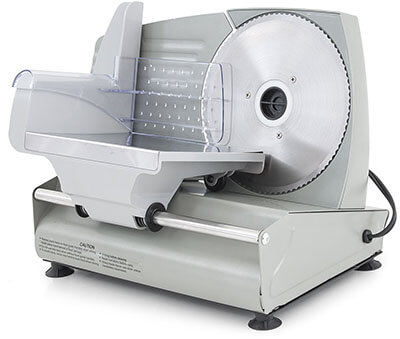 "ARKSEN Electric 7.5"" Blade Meat Slicer"