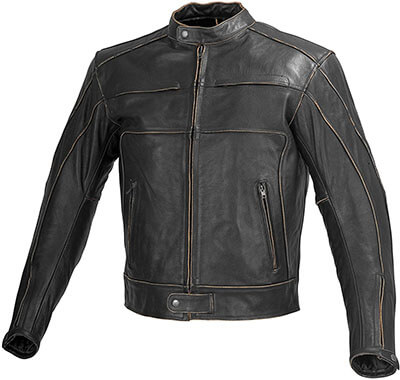 Xtreemgear Men Motorcycle Armor Leather Jacket