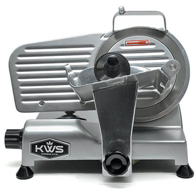 "KitchenWare Station Electric Meat Slicer, 6"" Stainless Steel Blade"