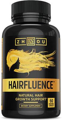 Zhou Nutrition Hairfluence All Natural Hair Growth Formula