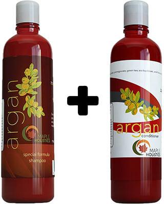 Argan Hair Conditioner Set Oil Shampoo