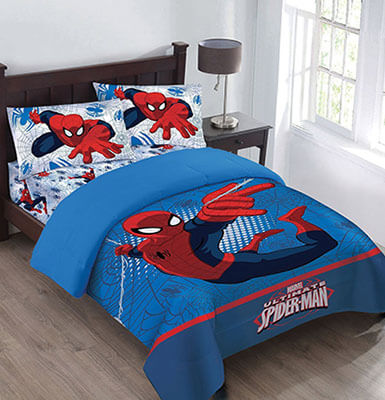 Marvel Spiderman Webbed Wonder Comforter Set