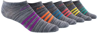 Adidas Women's 6-Pack Superlite No Show Socks