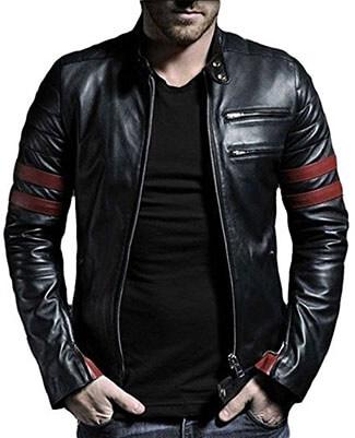 Laverapelle Men's Leather Jacket, Genuine Lambskin