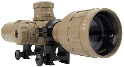 Monstrum Tactical AO Rifle Scope 3-9x32