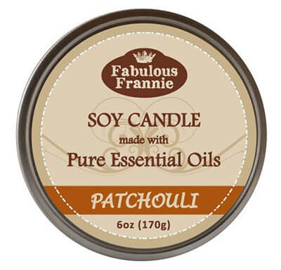 Fabulous Frannie Patchouli Natural Soy Candle