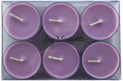 Soy Moments Lavender Chamomile Scented Soy Candles