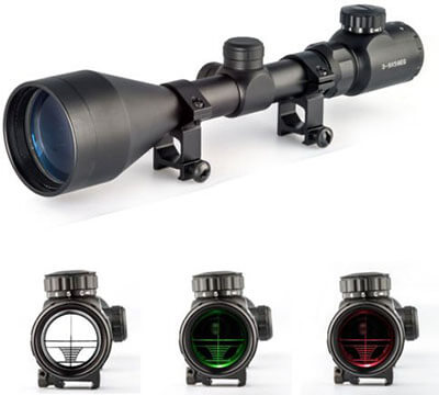 OTW 3-9X56 Optical Rifle Scope