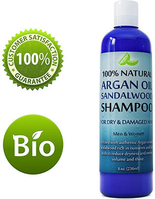 Honeydew Argan Oil Sandalwood Shampoo for Hair