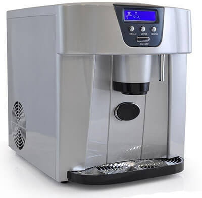 NutriChef PICEM75 Home Ice Machine and Dispenser