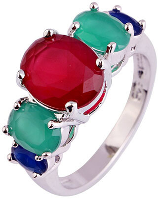Psiroy Women's 925 Sterling Silver Ring