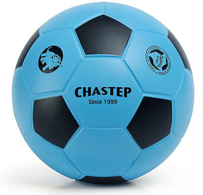 Chastep Blue and Black Soccer Ball