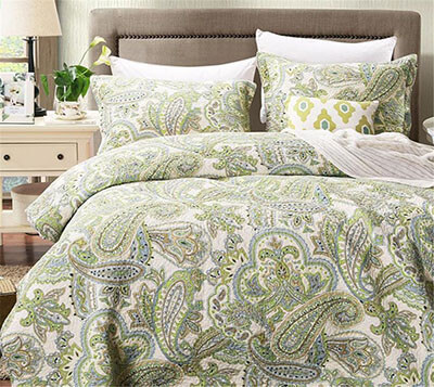 Comforbed Striped Jacquard Style Cotton Bed Sheet