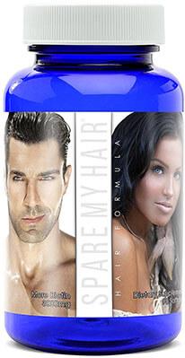 Spare My Hair Vitamins Hair Growth Supplement, Men and Women