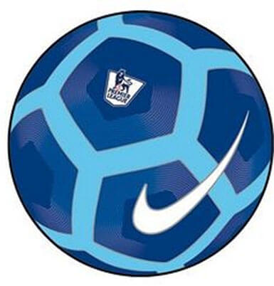 Premier League Pitch Football Ball by Nike