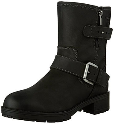 Clarks Reunite Go GTX Motorcycle Women Boot