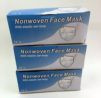 SG Nonwoven Face Mask