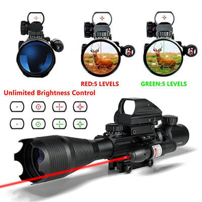 Aipa 3-in-1 Tactical Rifle Scope