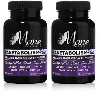 Manetabolism Plus Hair Growth Vitamins , 60 Capsules