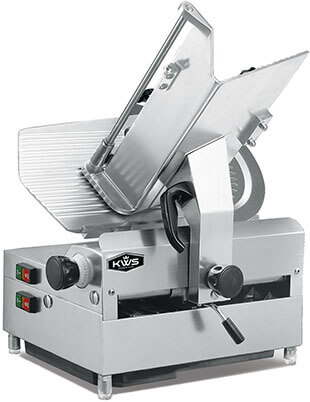 KitchenWare Station Automatic Commercial 1050w Electric Meat Slicer
