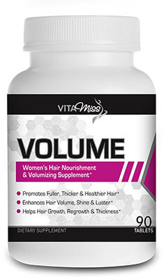 VitaMiss Volume Women's Hair Nourishment and Amplifier