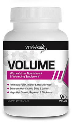 VitaMiss Volume Women's Hair Nourishment and Amplifier