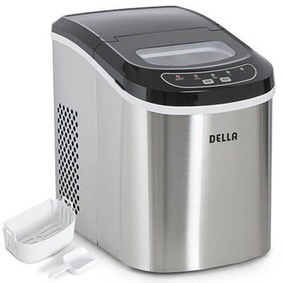 Della Portable Countertop Ice Maker
