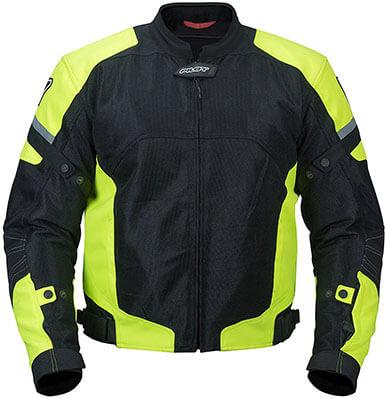 Pilot Motosport Men's Motorcycle Jacket, Direct Air Mesh