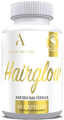 Arvore Naturals HairGrow, Natural ingredients, Nail and Hair boost