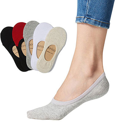 Skinisox Women's No-Show Socks